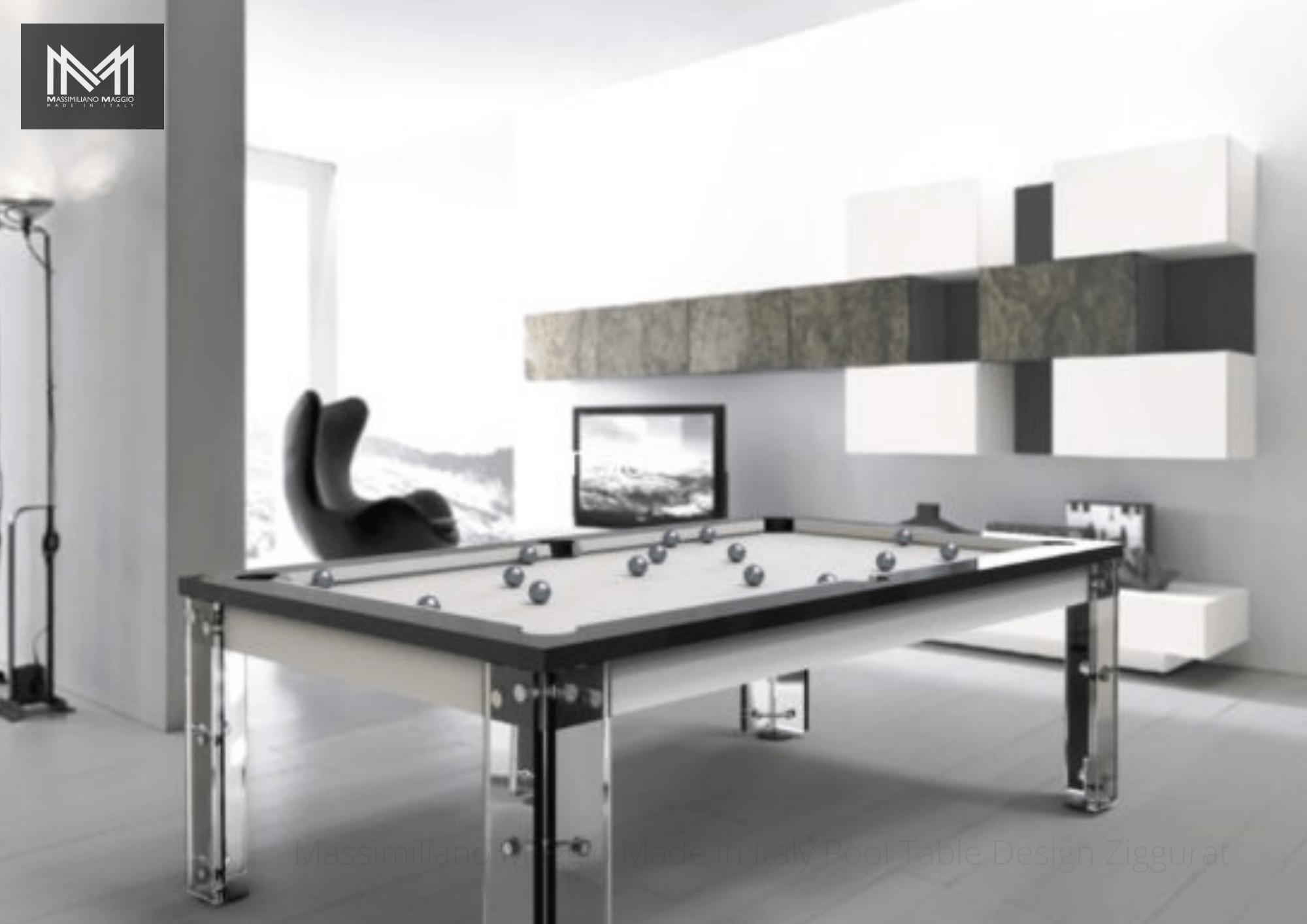2 M13 Massimiliano Maggio Made in Italy Luxury Pool Table Ziggurat biliardo tavolo.png.png.png